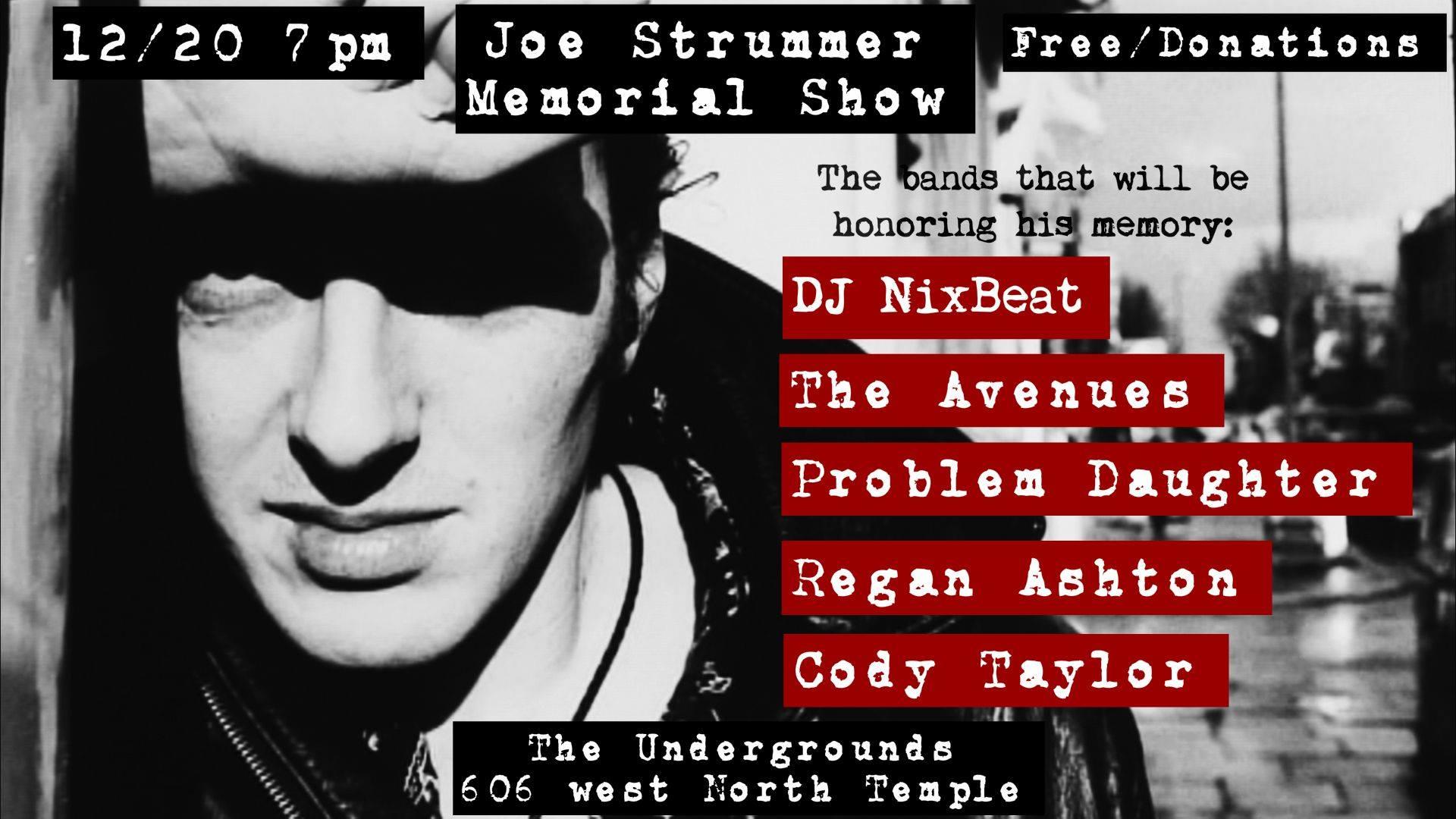 Joe Strummer Memorial Show